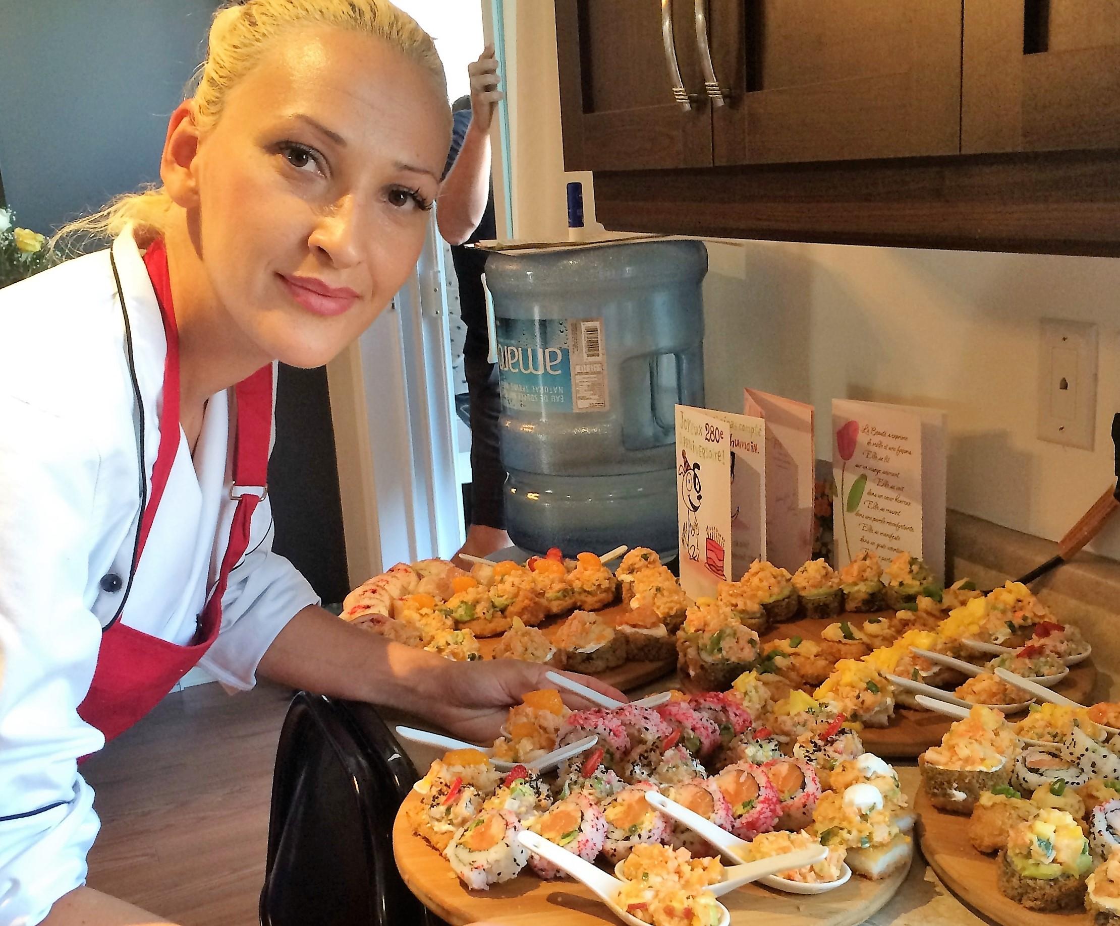 Votre Chef! — SushiS à Domicile